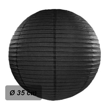 Obrázek Lampion kulatý 35 cm černý