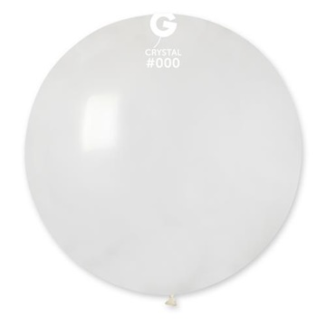 Obrázek Balon jumbo transparentní 100 cm