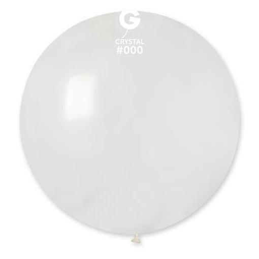 Obrázek z Balon jumbo transparentní 100 cm