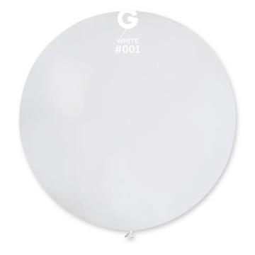 Obrázek Balon jumbo bílý 100 cm