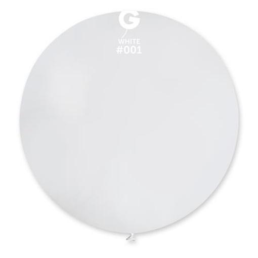 Obrázek z Balon jumbo bílý 100 cm