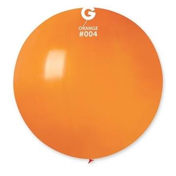 Obrázek Balon jumbo oranžový 100 cm