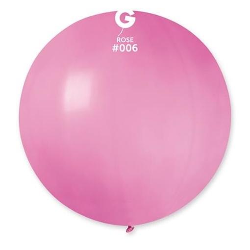 Obrázek z Balon jumbo růžový 100 cm