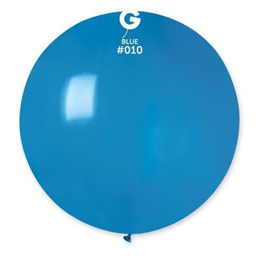 Obrázek z Balon jumbo modrý 100 cm