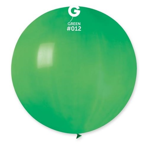 Obrázek z Balon jumbo zelený 100 cm