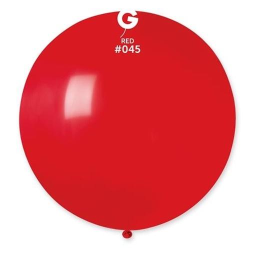 Obrázek z Balon jumbo červený 100 cm