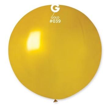 Obrázek Balon jumbo zlatý 100 cm