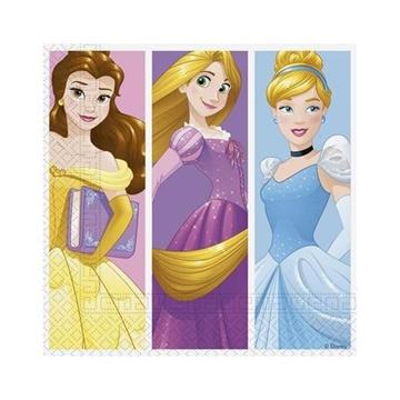 Obrázek Papírové party ubrousky Princess Dream Day 20 ks
