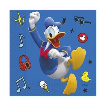 Obrázek Papírové party ubrousky Mickey Palts at Play 20 ks