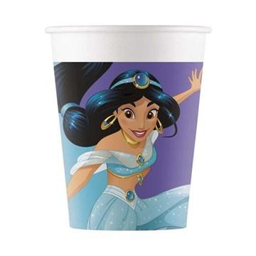 Obrázek Papírové party kelímky Princess Dream Day 8 ks