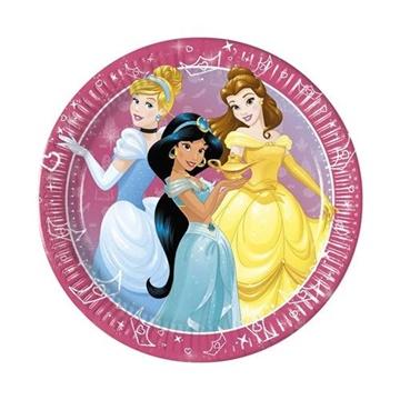 Obrázek Papírové party talíře Princess Dream Day 23 cm