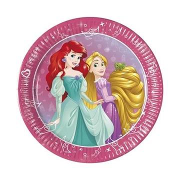 Obrázek Papírové party talířky Princess Dream Day 20 cm