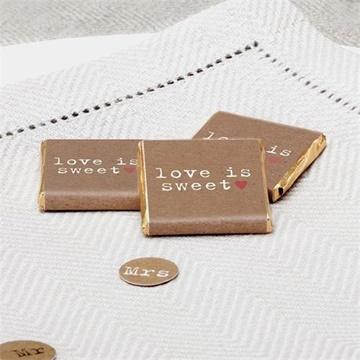 Obrázek Svatební čokoládka - Love is sweet