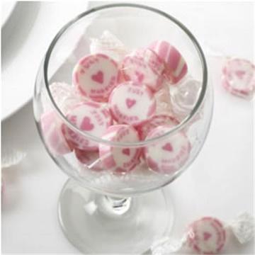 Obrázek Svatební bonbon Just Married - růžový