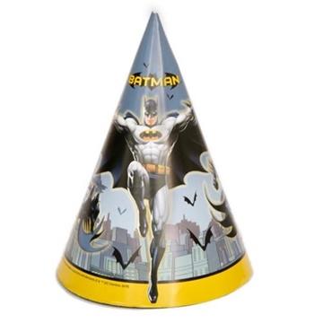 Obrázek Party čepičky Batman 8 ks