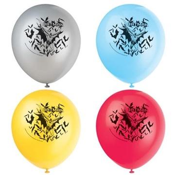 Obrázek Latexové balonky Batman 8 ks