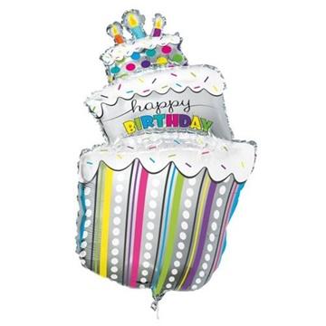 Obrázek Foliový balonek Birthday Cake 101 cm