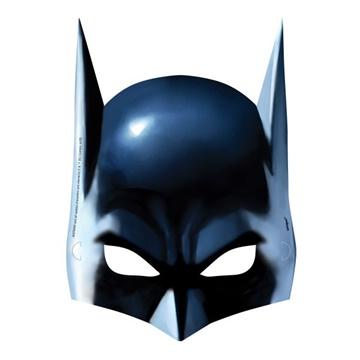Obrázek Party masky Batman 8 ks