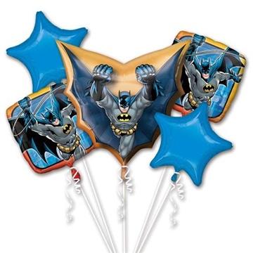 Obrázek Sada foliových balonků Batman - 5 ks