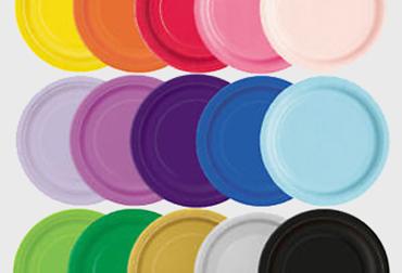 Obrázek pro kategorii Papírové talíře
