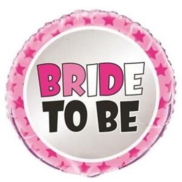 Obrázek Foliový balonek Bride to Be 45 cm