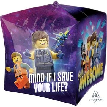 Obrázek Foliový balonek čtverec Lego 38 cm