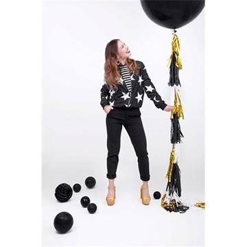 Obrázek Obří nafukovací balon 100 cm - pastelová černá