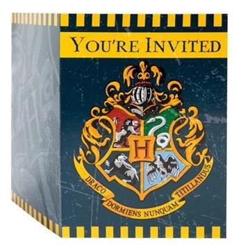 Obrázek Party pozvánky Harry Potter 8 ks