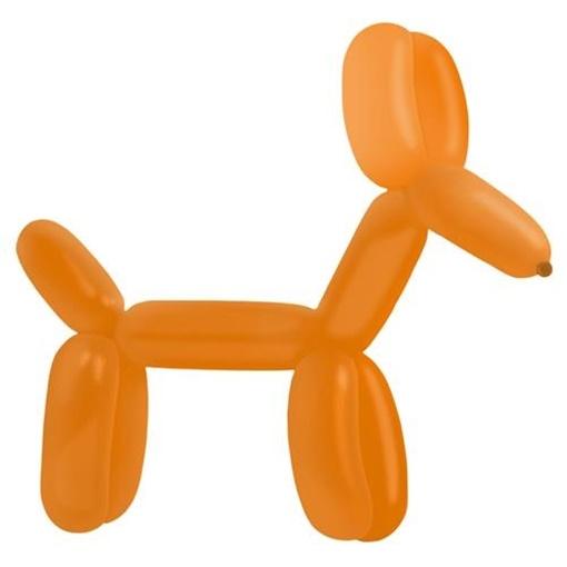 Obrázek z Dekorační modelovací balonky - oranžové 100 ks