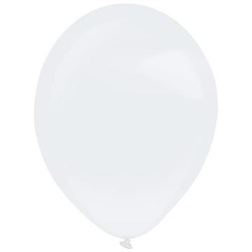Obrázek Dekorační balonek perleťový bílý 35 cm