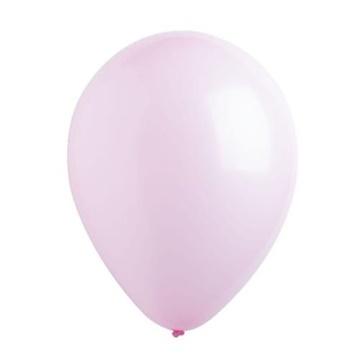 Obrázek Dekorační balonky pastelové baby pink 28 cm - 50 ks