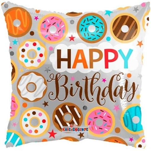 Obrázek z Foliový balonek Pillow donuts 46 cm
