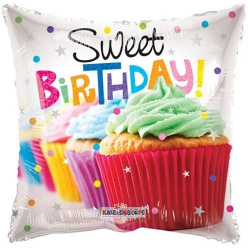 Obrázek z Foliový balonek Pillow muffin 46 cm