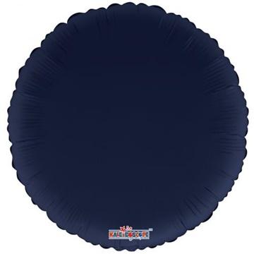 Obrázek Foliový balonek kruh navy blue 46 cm
