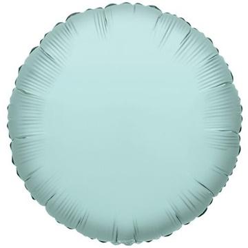 Obrázek Foliový balonek kruh mátově zelená 46 cm