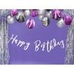 Obrázek z Latexový balonek Mramorový fialový 6 ks