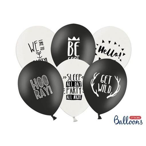 Obrázek z Latexový balonek Party 6 ks