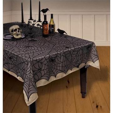 Obrázek Látková síť Halloween pavučina 152 x 213 cm