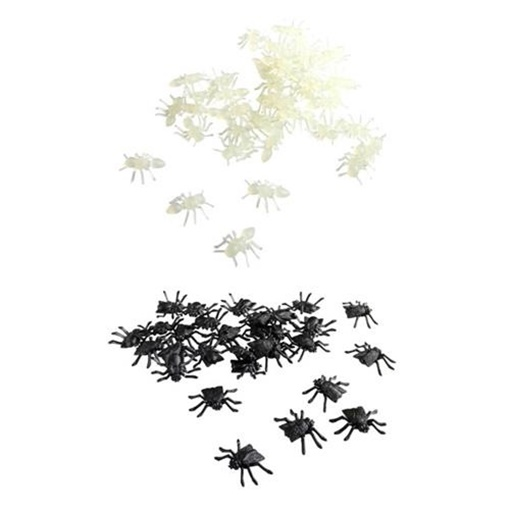 Obrázek z Halloweenská dekorace černý hmyz - plastový
