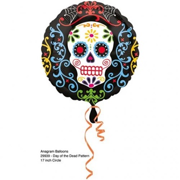 Obrázek Foliový balonek halloween - Day of the dead 43 cm
