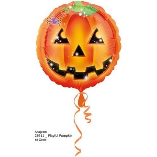 Obrázek z Foliový balonek halloween - dýně 43 cm
