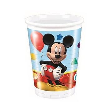 Obrázek Plastové kelímky Mickey Playful 8 ks