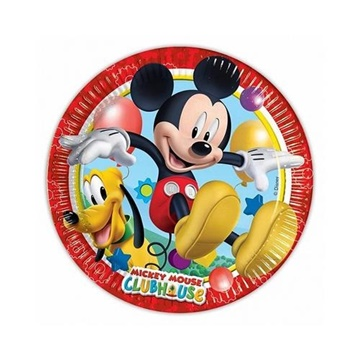 Obrázek Papírové talířky Mickey Playful 20 cm - 8 ks
