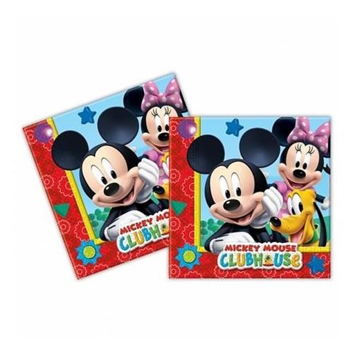 Obrázek z Papírové party ubrousky Mickey Playful 20 ks