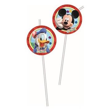 Obrázek Party brčka Mickey Playful 6 ks