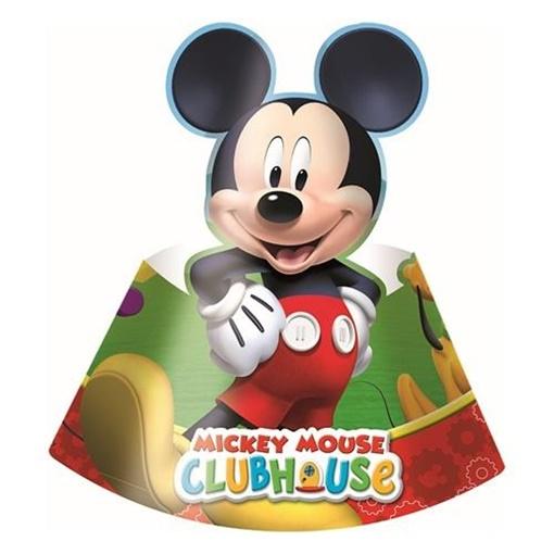 Obrázek z Party čepičky Mickey Playful 6 ks