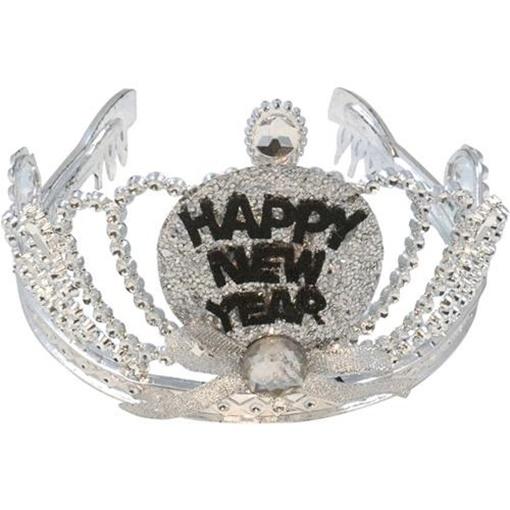 Obrázek z Čelenka - korunka Happy New Year s LED