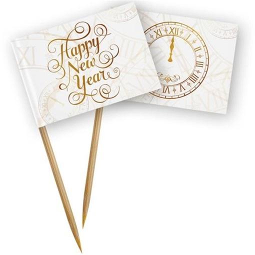 Obrázek z Napichovátka Happy New Year 50 ks