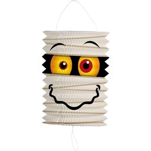 Obrázek z Závěsný lampion válec mumie 16 cm