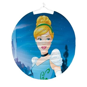Obrázek Závěsný lampion kulatý Disney Princess 25 cm